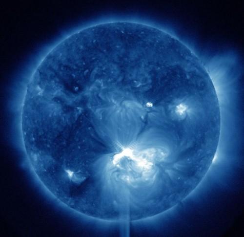 sole, eruzione, tempesta, magnetica, terra, comunicazioni,NEWS,terra,pianeta,Tempesta solare il 13 luglio 2012
